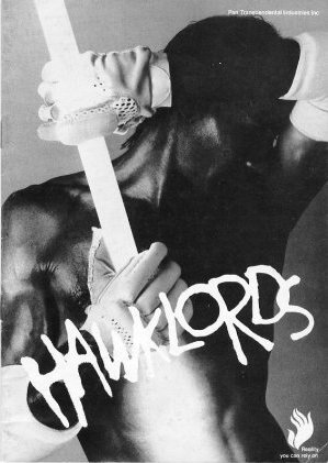 Hawklords Tour programme