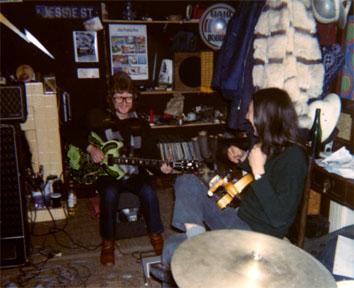 Barney B in studio