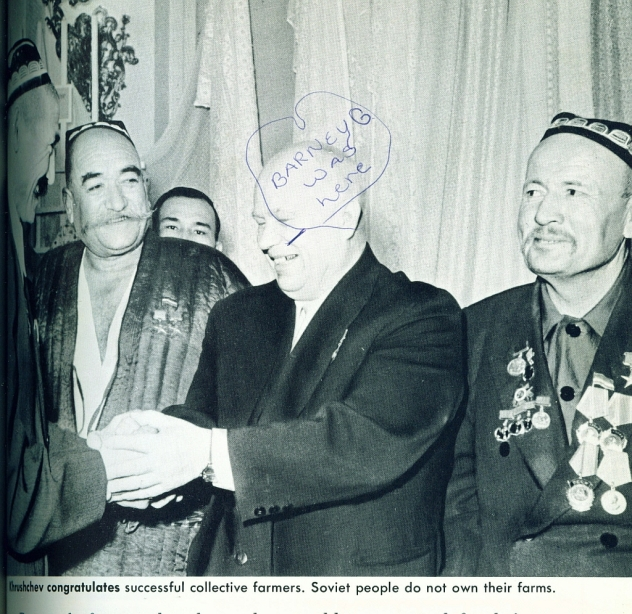 Kruschev Congratulates Collective Farmers (2)